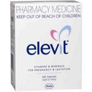 Elevit With Iodine 100 Tablet Aif612 elevit tablets 100 available from linden park