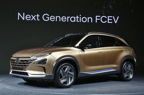 new hyundai suv 2018 hyundai hydrogen fuel cell suv 2018 revealed car news