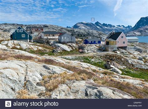 fjord greenland inuit settlement of tiniteqilaaq sermilik fjord east