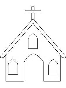 Outline Of A To Color by Church Outline Coloring Pages Best Place To Color
