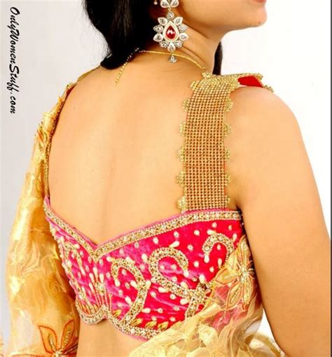 100 new blouse designs pattern back amp neck designer