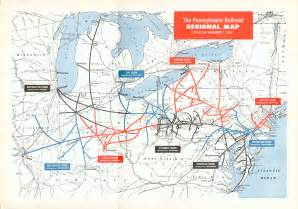 railroad maps pennsylvania railroad