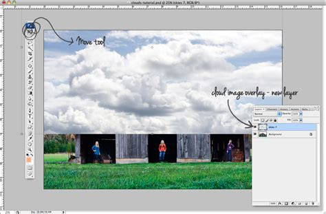 add pattern to image photoshop how to add clouds to an image in photoshop ew couture