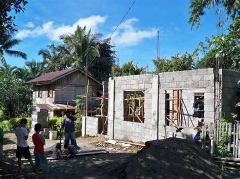 building a concrete block house building a concrete block house part 2 philippines