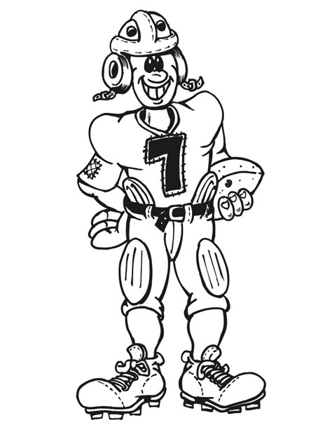 coloring pages of football stuff coloring pages football player coloring home