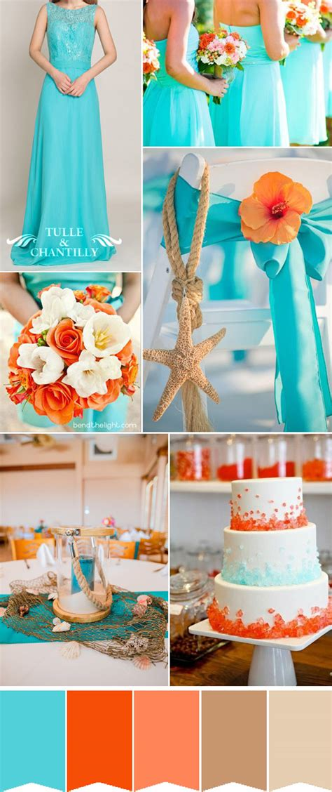 summer wedding color schemes fabulous summer wedding colors with matched
