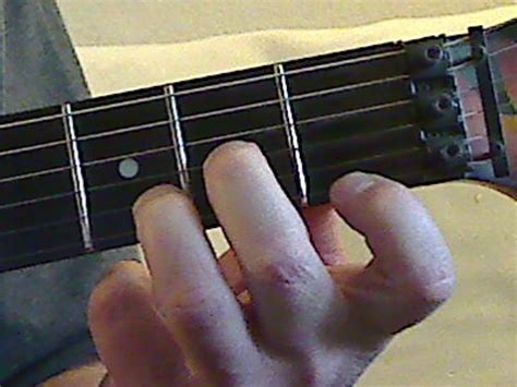 A Minor Chord Guitar Finger Position