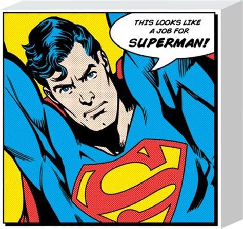 Comic Book Wall Murals superhero to the rescue superman popartuk