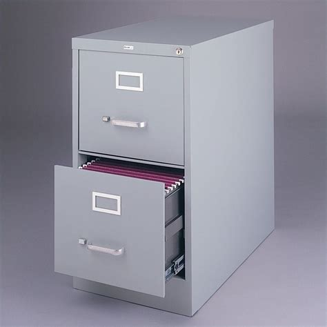 Grey Filing Cabinet Hirsh Industries Vertical Files 2 Drawer Letter File Cabinet In Gray 14417