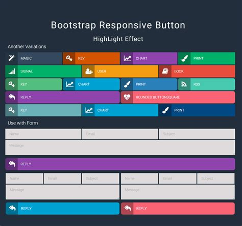 bootstrap button colors bootstrap responsive button by excellent dynamics codecanyon