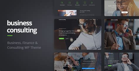 wordpress themes computer consulting business consulting coaching business training