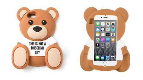 Moschino Teddy Iphone the coolest cases for your iphone 6 6 plus sidewalk hustle