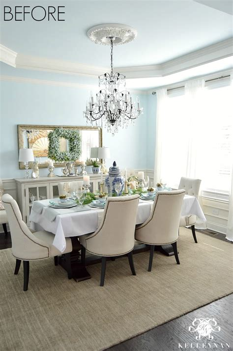 Horizontal Dining Room Chandeliers Dining Room Update Vertical Vs Horizontal Buffet Mirror
