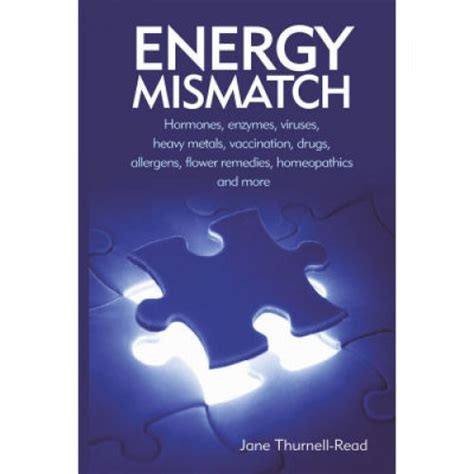 energized books energy mismatch book by thurnell read