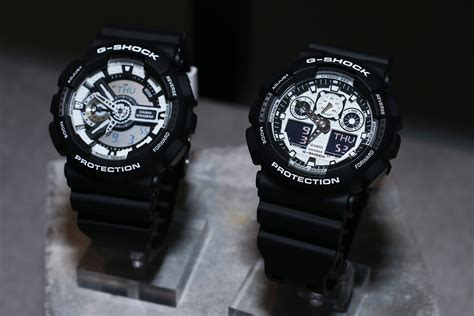 G Shock Black Blue List White 2015 g shock models live photos g shock black white