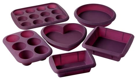 cooking with silicone bakeware pictures