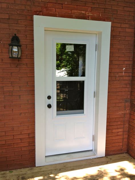 Exterior Door With Window That Opens Interesting 20 Exterior Back Doors Design Ideas Of Exterior Back Doors Exterior Back Doors