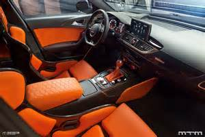 Leather Car Seat Upholstery Cost New Audi Rs6 Avant Clubsport By Mtm Has 760ps