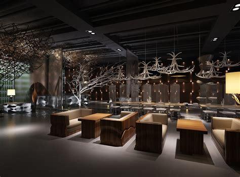 restaurant interior tavern cgtrader