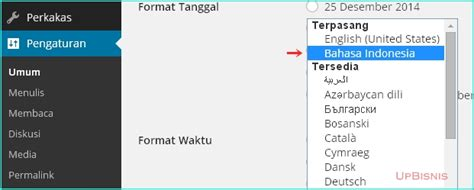 tutorial wordpress dalam bahasa indonesia menganti wordpress dan woocommerce ke bahasa indonesia