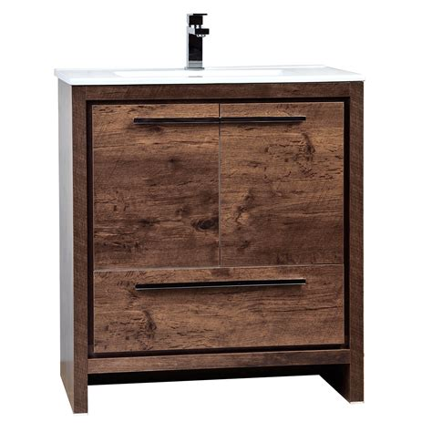 29 inch bathroom vanity buy cbi enna 30 inch rosewood modern bathroom vanity tn l750 rw on concepbaths com