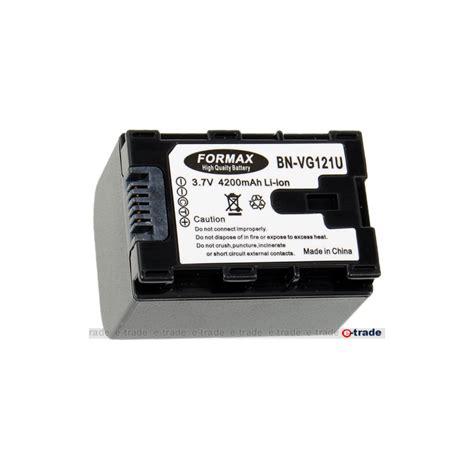 Baterai Jvc Bn Vg121 1 akumulator jvc bn vg121 4200 mah jvc gz e10 gz e15