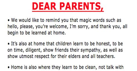Parent Letter For Words Their Way Teachers Frustrations Perfectly Displayed In Viral Letter To Parents