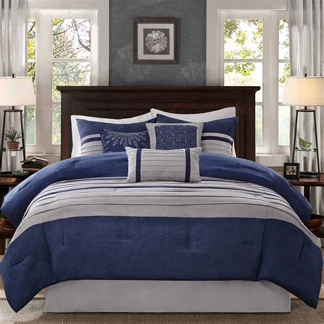 madison park comforter set madison park palmer 7 piece comforter set ebay