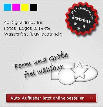 Aufkleber Individuell Bestellen by Individuelle Autoaufkleber Drucken Aufkleber F 252 Rs Auto