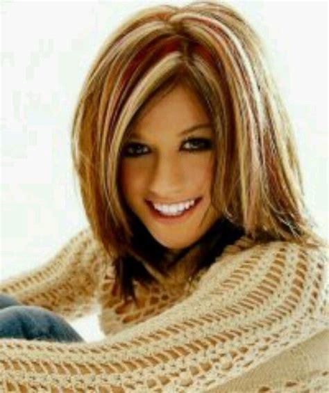 highlighted hair at 50 50 stylish hair color ideas from celebs stylish hair
