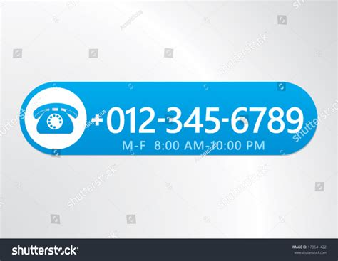 Free Website To Find S Phone Numbers Phone Icon With Number Design For App Or Website Vector Illustration 178641422