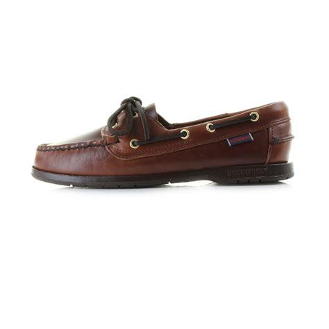 sebago boat shoes womens womens ladies sebago victory brown premium full leather