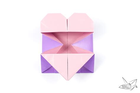 Envelope Origami - origami best origami hearts ideas on find my bookmarks