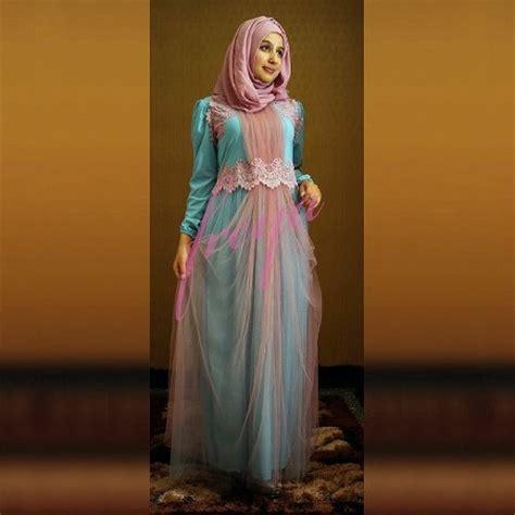 Gamis Fashion Elegan 25 koleksi gaun pesta muslim modern dan elegan ide model