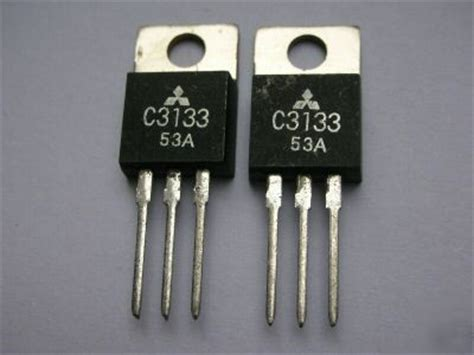 transistor lifier rf 2 2sc3133 c3133 npn rf power transistors to 220