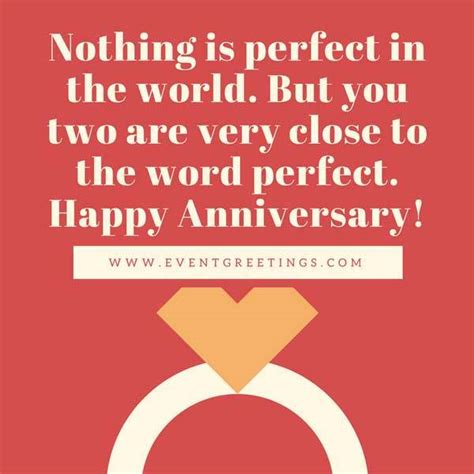 Wedding Anniversary Message Quotes by Happy Anniversary Quote With Ring Nicewishes
