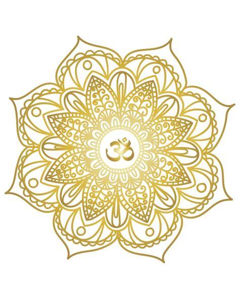 Mandala Gold real gold foil print wall gold foil print a4 mandala print glitzy prints madeit au