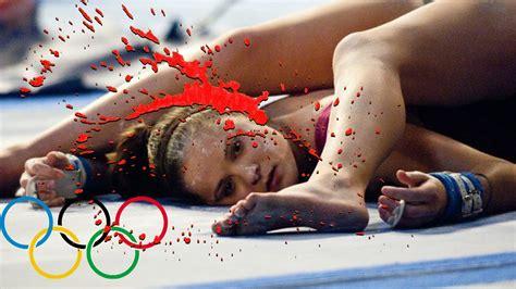imagenes violentas reales videos de accidentes y muertes en juegos olimpicos