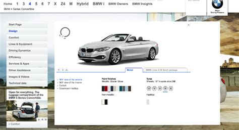 visualizer online bmw f33 4 series convertible visualizer goes online