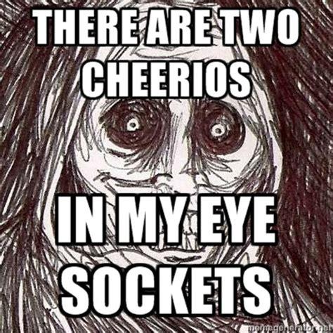 Unwanted Guest Meme - creepy house guest meme memes