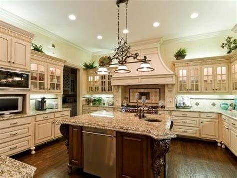 beautiful kitchen with large island house home marvelous kitchen with a nice big granite top island