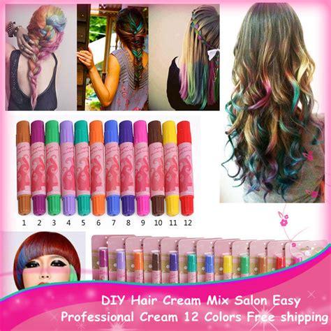 diy hair color new style temporary 1pc hair dye color diy hair mix