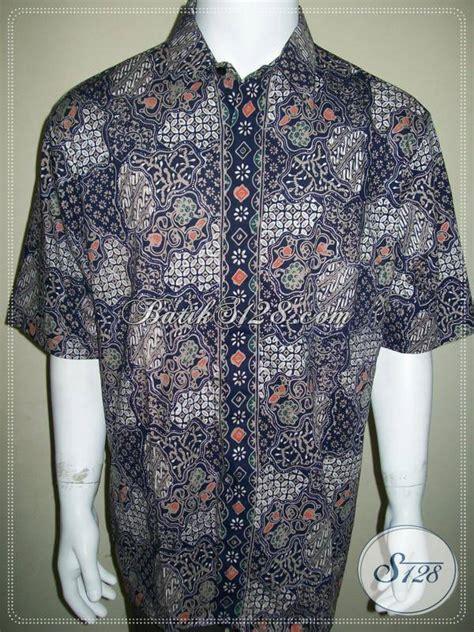 Jawara Lawasan Colet Jumbo Dress kemeja batik sekar jagad ukuran jumbo batik cap bahan katun ld380ctc toko batik