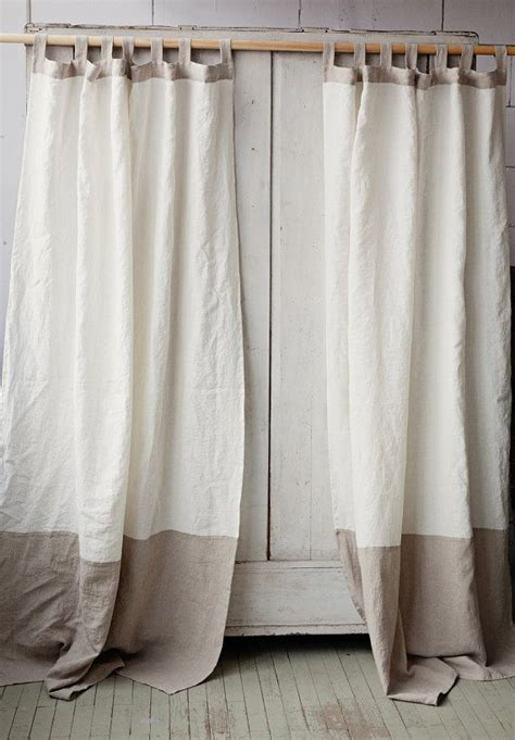 linen tab curtains best 25 white linen curtains ideas on pinterest