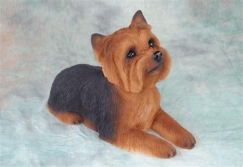 yorkie terrier size memorial size sculpture urn terrier
