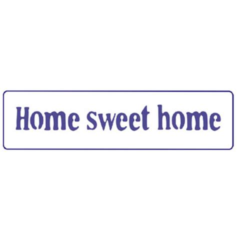 sxedio pentart text home sweet home