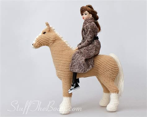 amigurumi pattern pony abby the horse amigurumi pattern stuff the body