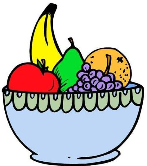 fruit bowl fruit bowl drawing with shading clipart panda free