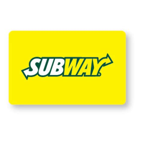 My Subway Gift Card - free 5 subway gift card earbuds or 1 0f 5 magazine