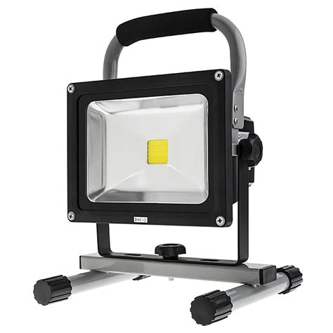 best portable work light 20w portable high powered rechargeable led work light